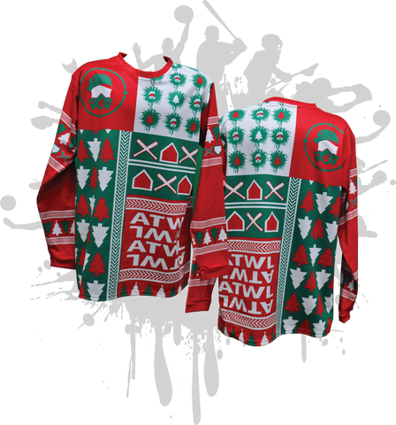Christmas Pattern Splash Sweater