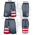 Star Spangled Men's Full-Dye Shorts