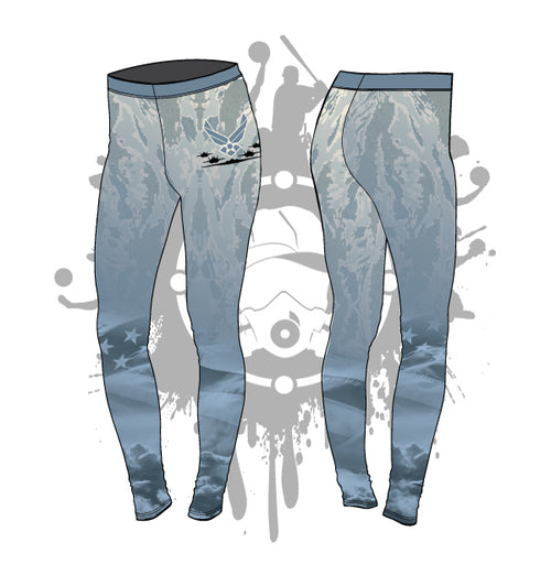 Armed Forces (AIR FORCE) Womens Leggings