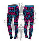 All Over Tron Womens Leggings