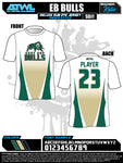 East Bay Fall League Men's Sub Dye Jerseys