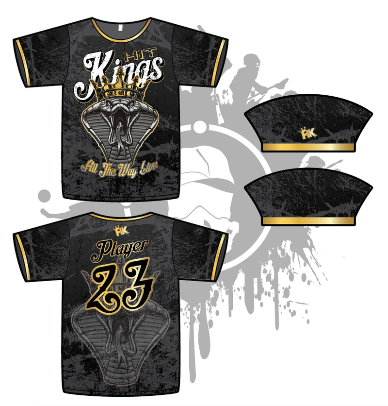 Hit Kings Animal Series Mens Full Dye Jersey (Cobra)