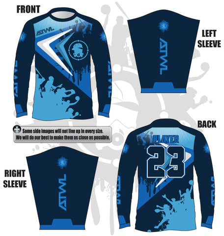Erratic Men's Long Sleeve Jersey