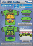 Cowabunga Turtles Mens Full Dye Jersey