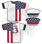 We The People Men's Full Dye Jersey