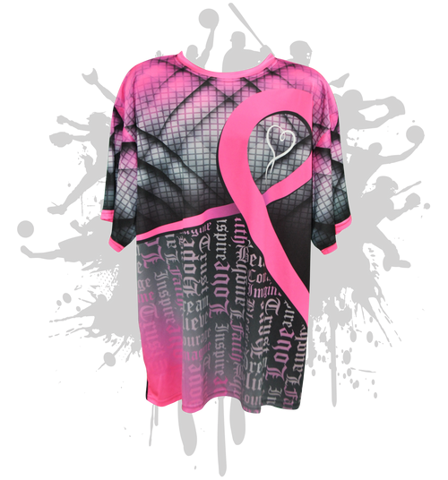 Fight For Love Cancer Awareness Mens Full Dye Jersey