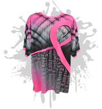 Fight For Love Cancer Awareness Youth Full Dye Jersey