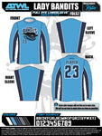 Lady Bandits 10U Men's Long Sleeve Jersey