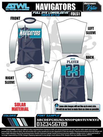 Navigators Long Sleeve Jersey