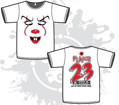 Pennywise Mens White Sub Dye Jersey