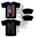 Hunters Flag Mens Full Dye Jersey
