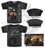 Gas Mask Reflection Series Camo Mens Full Dye Jersey