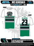 Wesley Chapel Fall League Men's Sub Dyes
