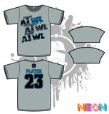 Repeat Design Mens Grey Sub Dye Jersey