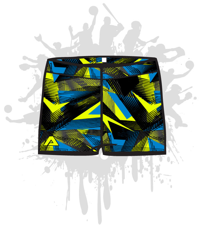Grunge Arrow Women's Compression Shorts