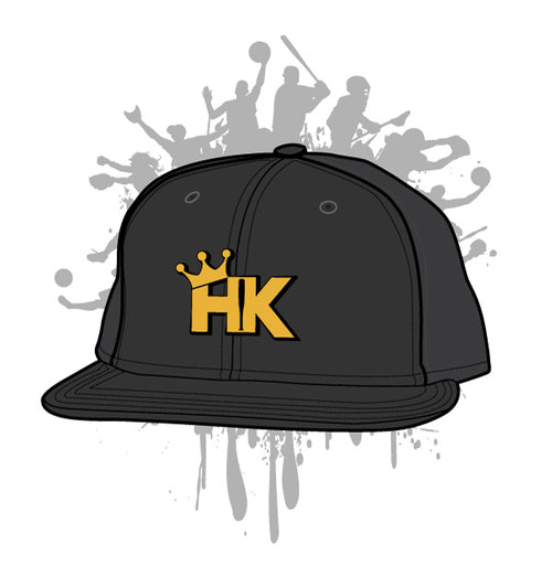 "Hit Kings ""HK"" 3D 8D6- Black"