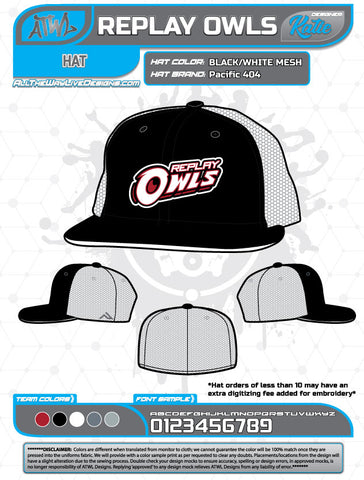 REPLAY OWLS HAT