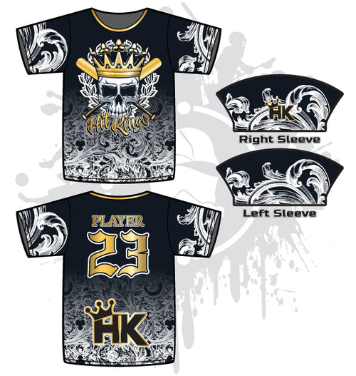 Hit Kings Heritage Mens Full-Dye Jersey
