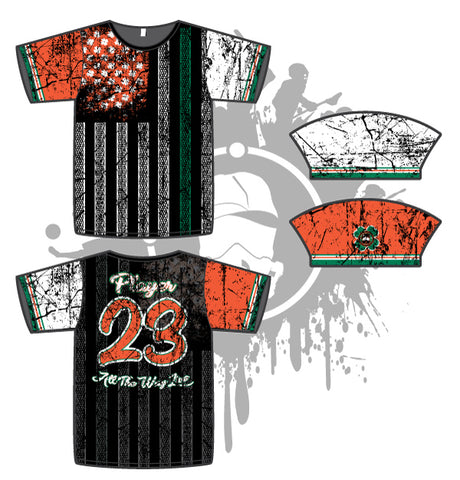 Shamrock Flag Mens Full Dye Jersey