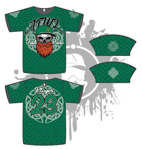 Irish Pride Mens Full Dye Jersey