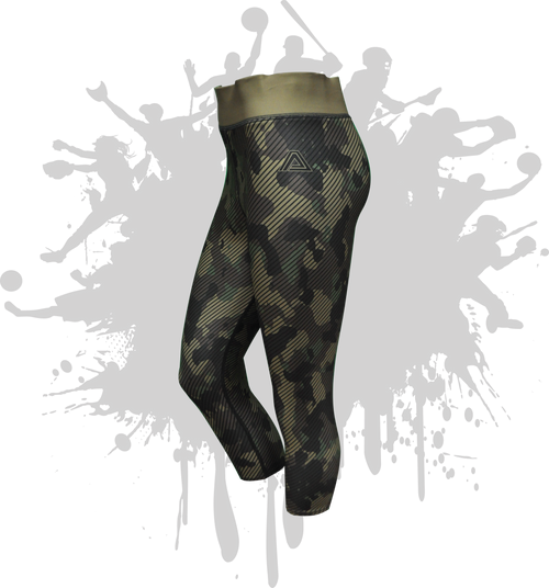LINEAR LEGGINGS CAMO