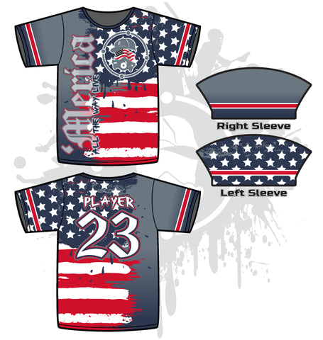 Star Spangled Men's Full-Dye Jersey