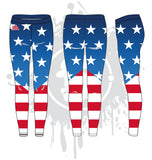 God Bless America Women's Leggings