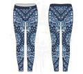 Bandana Womens Leggings: Gradient (7 Colors Available)