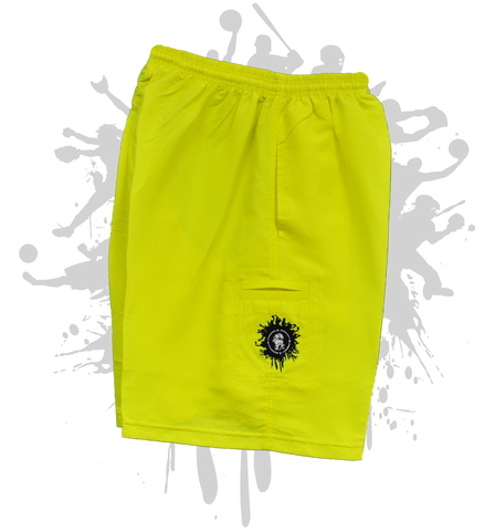 ATWL Neon Yellow Micro Shorts