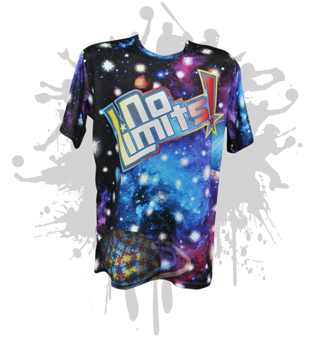 No Limits Autism Awareness Mens Full Dye jersey