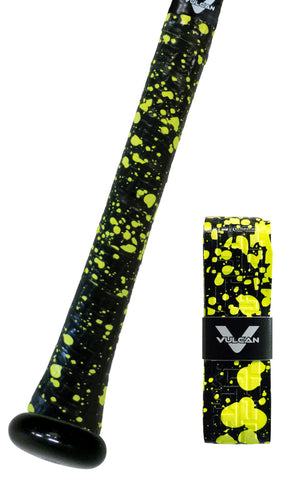 Vulcan Bat Grips - SPLATTER SERIES <br /> (4 Colors)
