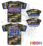 ARMY CAMO TRON YOUTH FULL DYE JERSEY