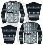 Football ATWL Christmas Spirit Sweater-3