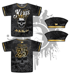 Hit Kings Animal Series Mens Full Dye Jersey (Skull)