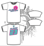 Splash Mask Mens Sub dye jersey Mint/Neon Pink (white only)