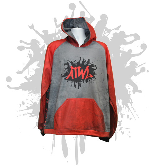 ATWL SIMPLE Hoody- RED