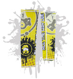 Splatter Gasmask Arm Sleeve (additional color options available)