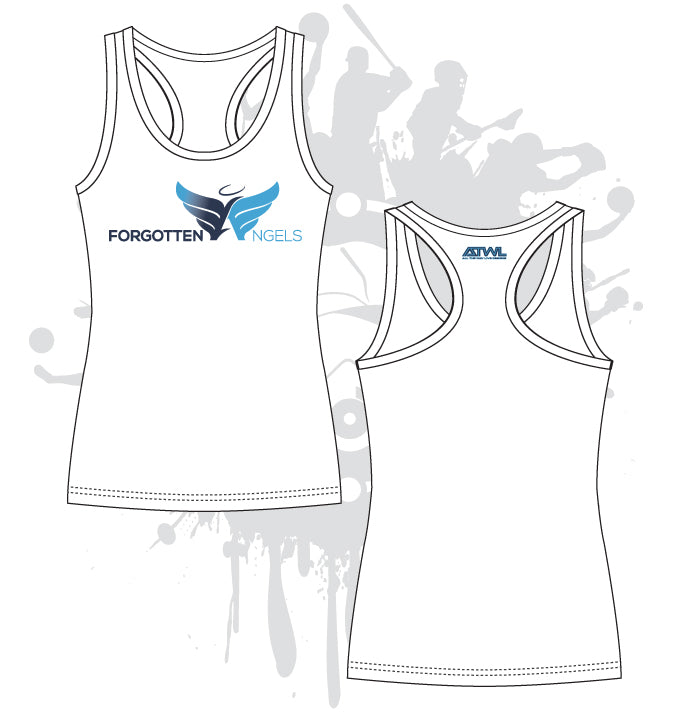 Forgotten Angels Womens Racerback Shirt