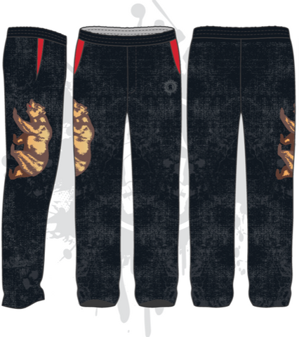 California Reppin unisex full dye Sweat Pants