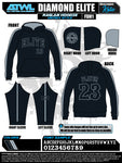 Diamond Elite Black Edition Hoodie