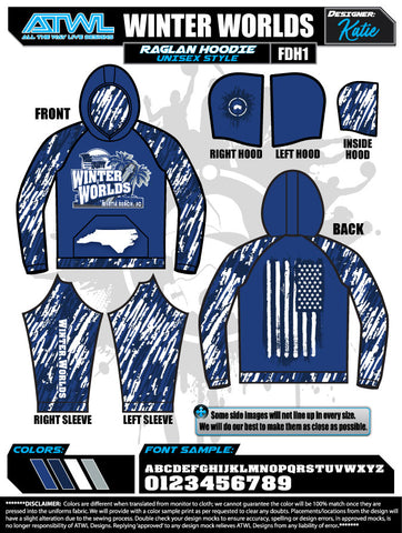 2019 Freedom Sports Myrtle Beach-2 Winter Worlds Unisex Hoody