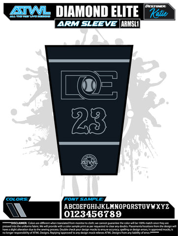 Diamond Elite Black Edition Arm Sleeve