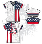We The People Women's Full Dye Jersey