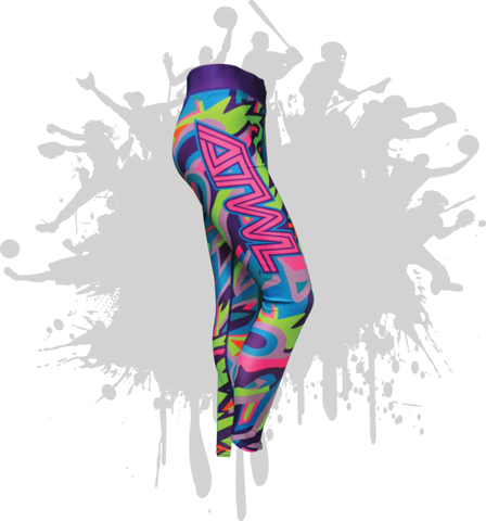 Wild Pattern Womens Legging