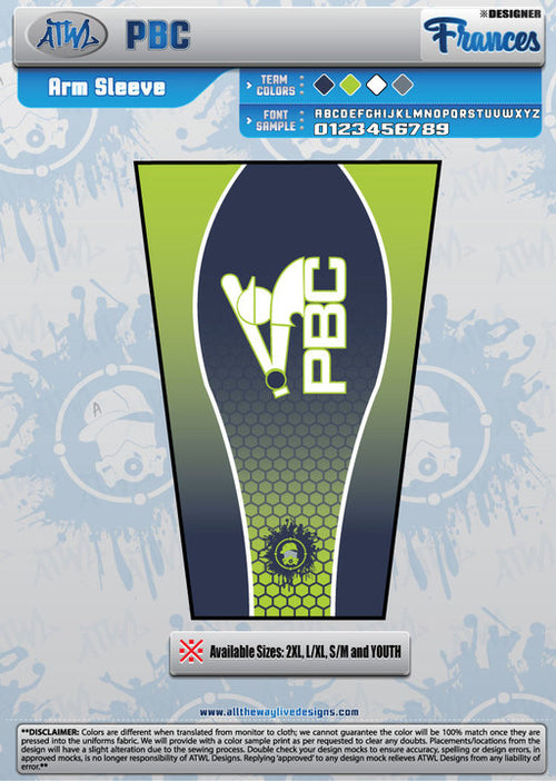 PBC ARM SLEEVE
