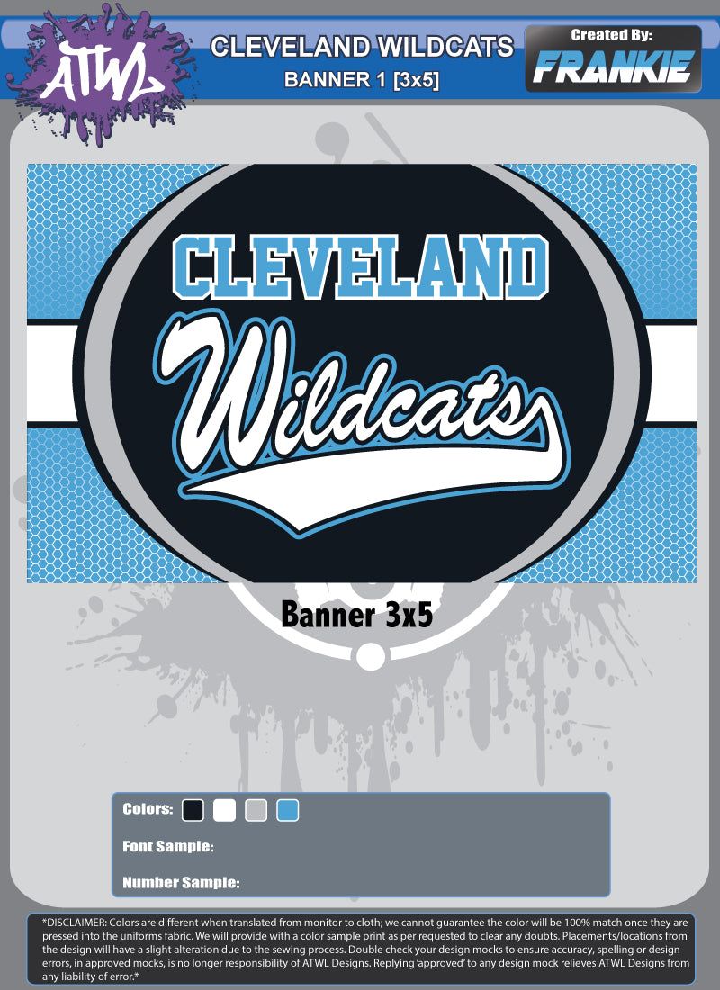 Cleveland Wildcats Banner
