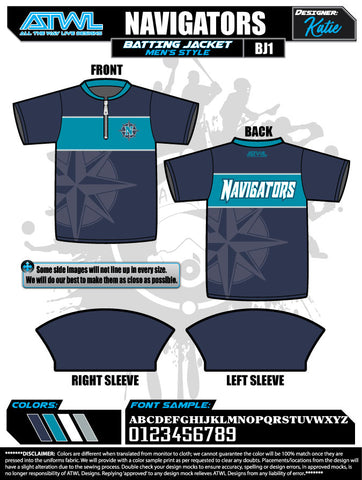 Navigators Batting Jacket