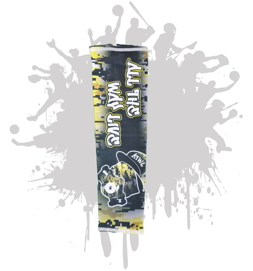 Digi Gasmask Full Dye Arm Sleeve (additional color options available)
