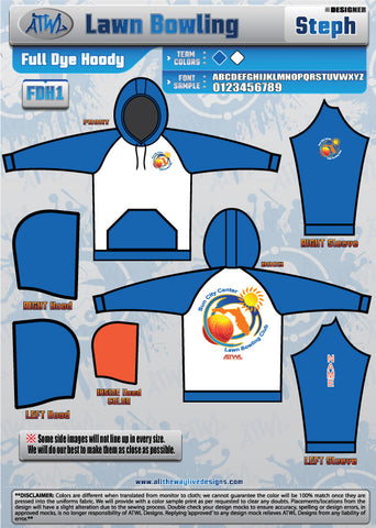 Sun City Center Lawn Bowling Hoodies