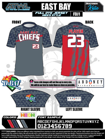 East Bay AB Men's Jersey